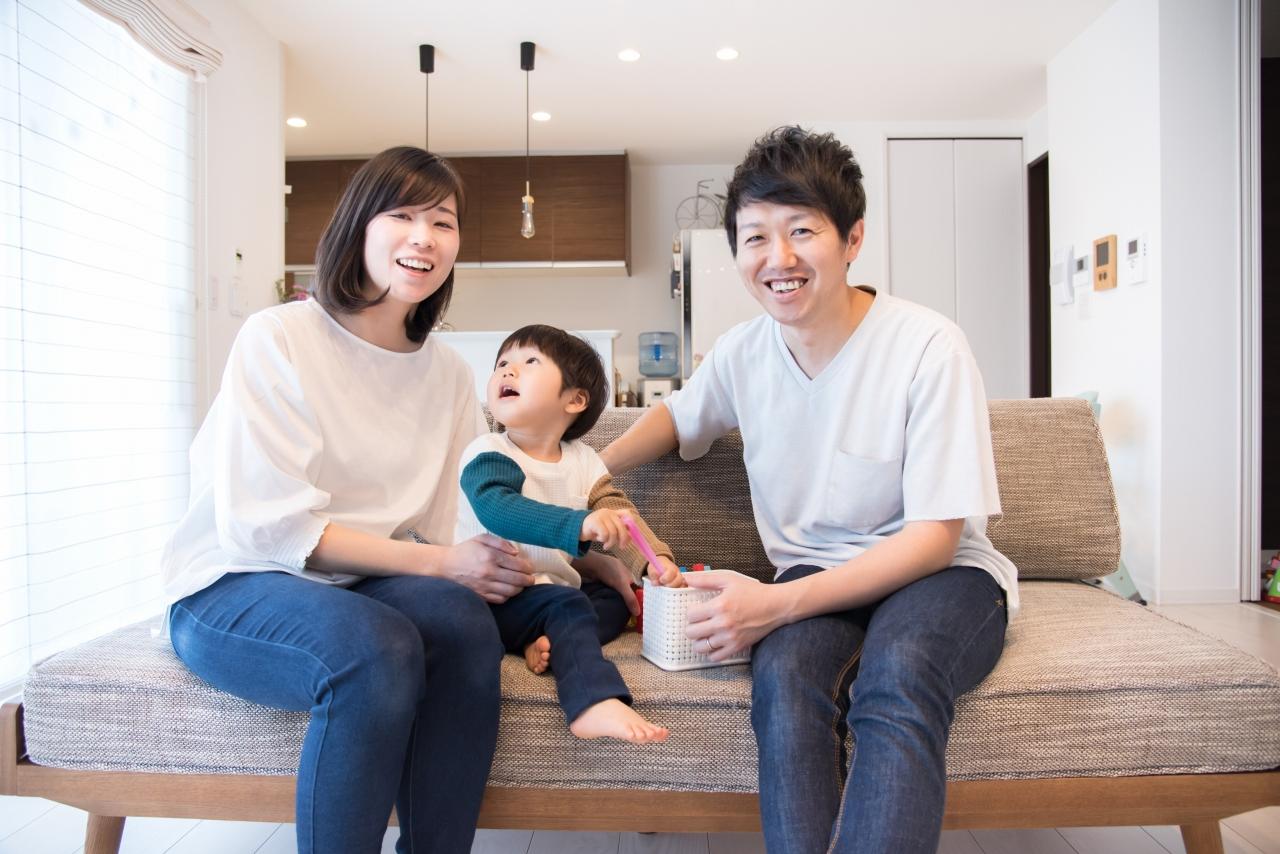 家族の笑顔のイメージ